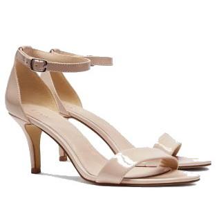 Next Minimal Sandals Nude