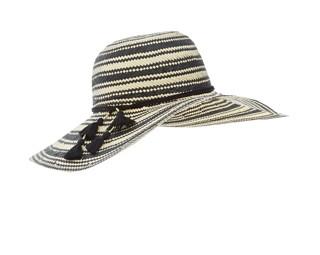 Accessorize Goddess Geo Tassel Floppy Hat