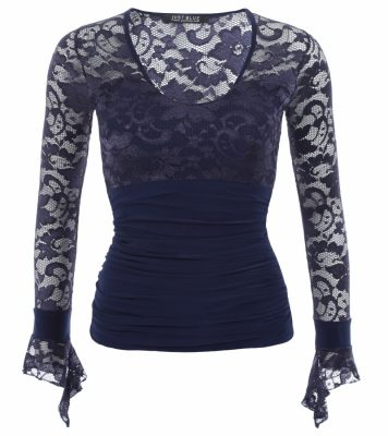 6127-navy-blue-lace-bell-cuff-top-ghost