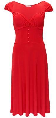5799 Red Sweetheart Neckline Dress Ghost