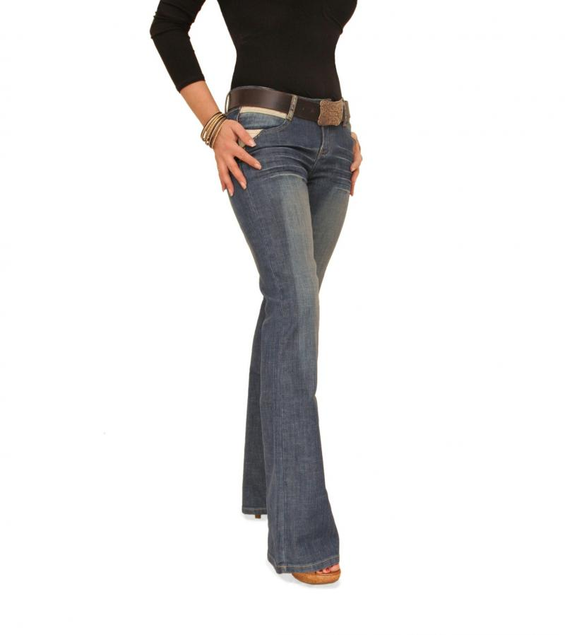 Slim Fit Boot Flare Jeans