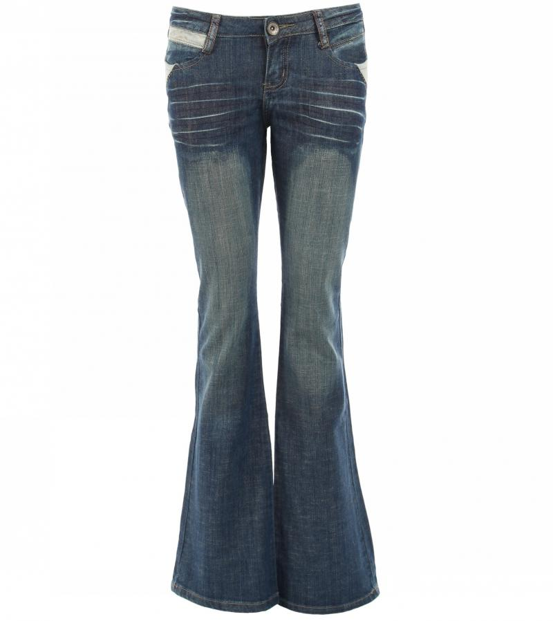 Just Blue - Slim Fit Boot Flare Jeans